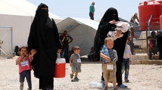 Al-Hol-leiri Syyriassa.