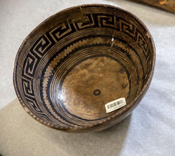 Mesa verde intiaanien esineitä, jotka palautetaan Yhdysvaltoihin.
