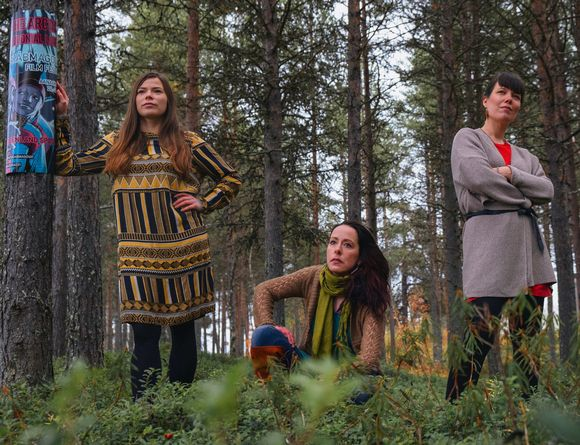 Anni Koivisto, Taru Arrela ja Tiina-Maria Aalto