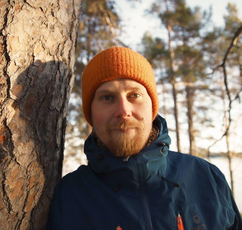 Koltansaamen opettaja Tauno Ljetoff.