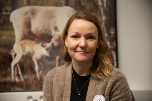 Tiisu-Maria Näkkäläjärvi.