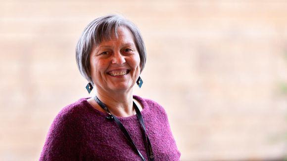 Yliopistonlehtori, yhteiskuntatieteiden tohtori, Giellagas-instituutin johtaja Anni-Siiri Länsman