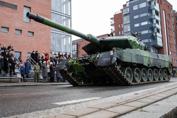 Itsenäisyyspäivän viettoa Tampereella.