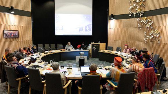 Saamelaiskäräjien vaalikauden 2015-2019 viimeinen täysistunto.