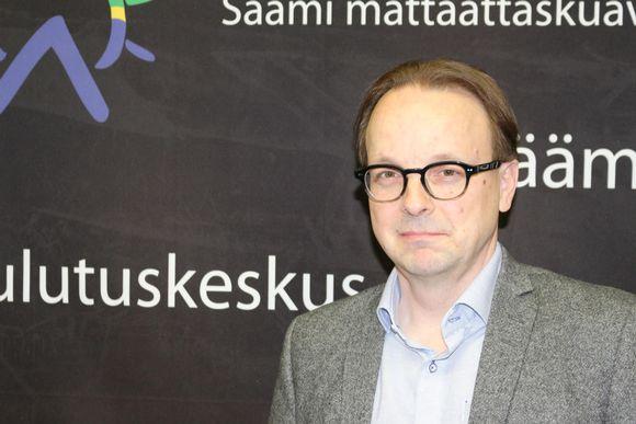LY.n rehtori Antti Syväjärvi Inarissa