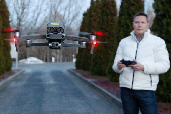drooni ja lentäjä