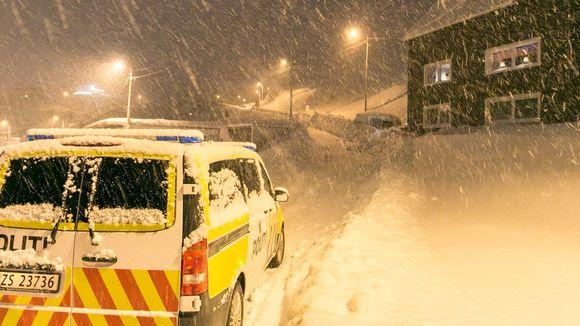 Norjan Honningsvågissa satoi maanantain vastaisena yönä jopa 60 senttiä lunta.