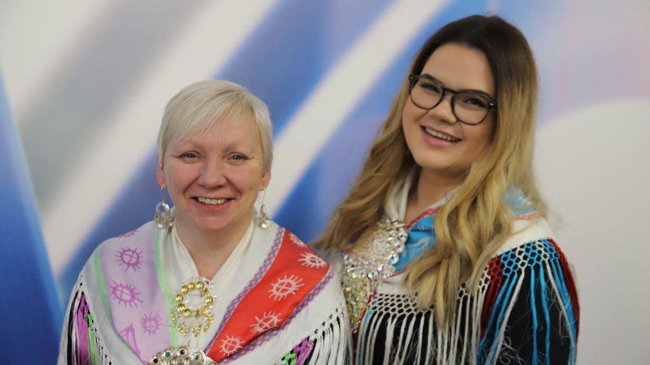 Karen Eira ja Inger-Elle Suoninen.