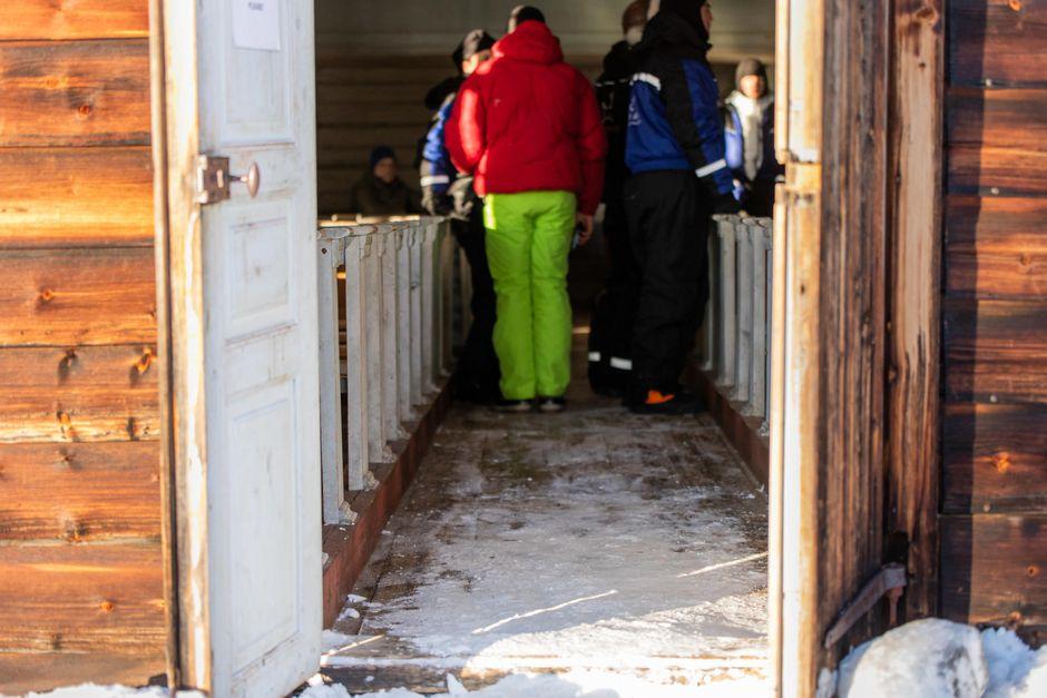 Pielpajärven erämaakirkko on suosittu vierailukohde.