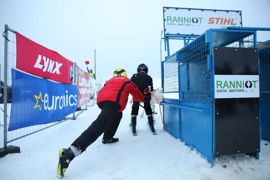 Rovaniemen Poro-cup osakilpailussa oli junioreille oma lähtö.