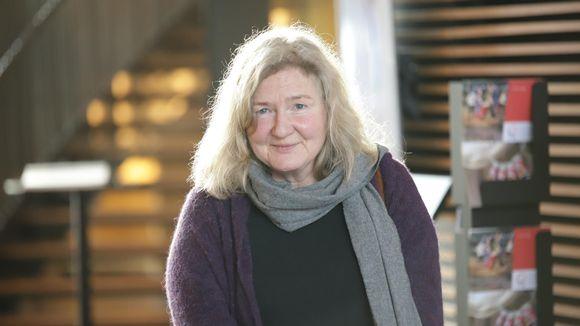 Mikaela Weurlander Inarissa saamelaiskulttuurikeskus Sajoksessa