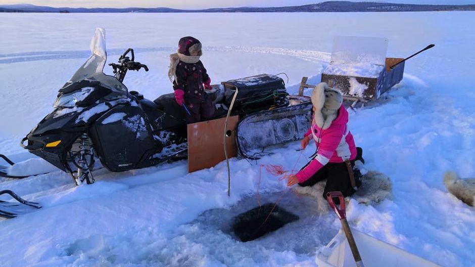 talvi kalastus