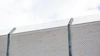 Kylmäkosken vankilan raja-aita.