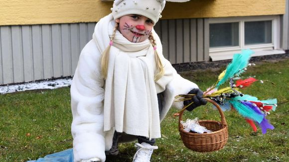 Kahdeksanvuotias Viola Lithonius virpoi tuoreeks, terveeks.
