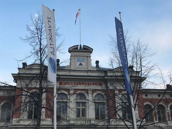 Jyväskylän kaupungintalo.