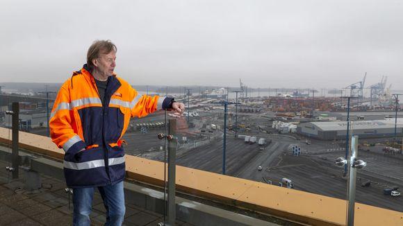 Jukka Kallio, rahtiliikenneyksikön johtaja, Helsingin satama