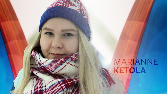 Yle Saamen kolumnisti Marianne Ketola.