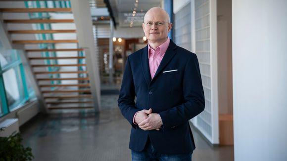 Finvectorin toimitusjohtaja Timo Ristola.