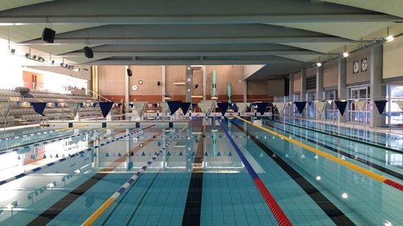 Oulussa Raksilan uimahalli on nyt tyhjillään, ovet avautuvat taas kesäkuun 1. päivä.