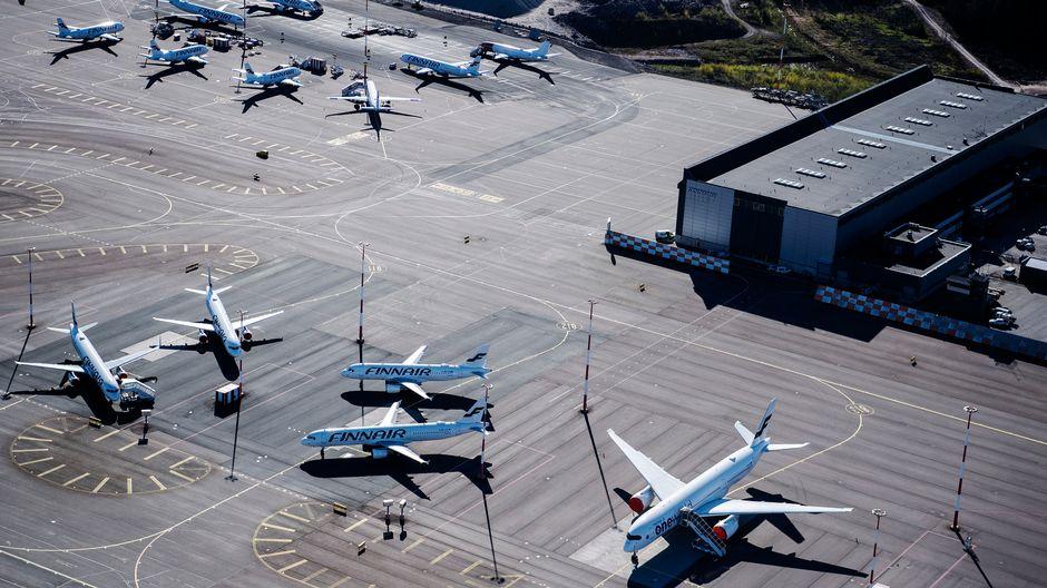 Finnair продлит принудительные отпуска персонала до марта 2021