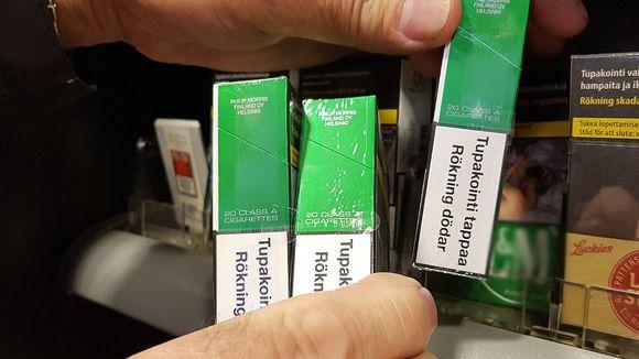 Pallon Teboilin tupakkahylly
