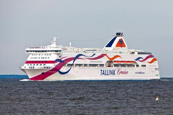 Tallink Silja Baltic Queen.