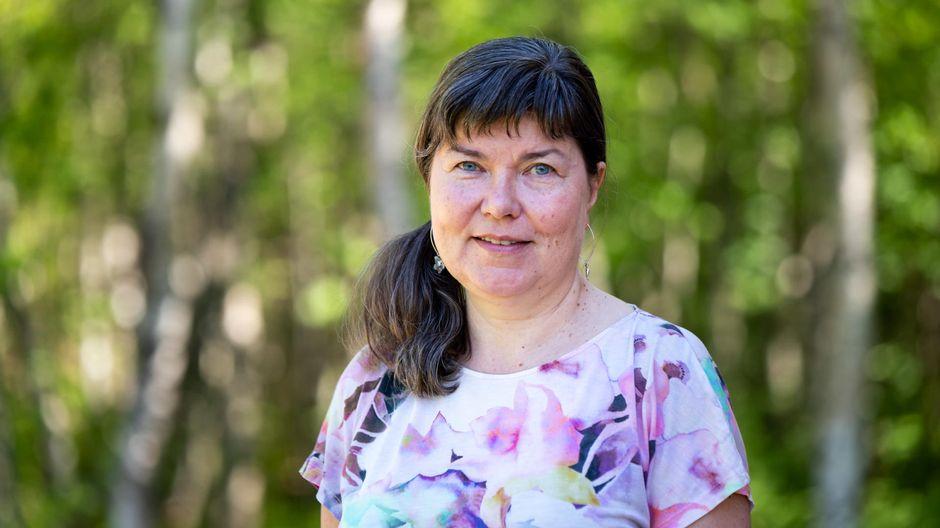 Pirjo Seurujärvi Metsähallituksen puistojohtaja.