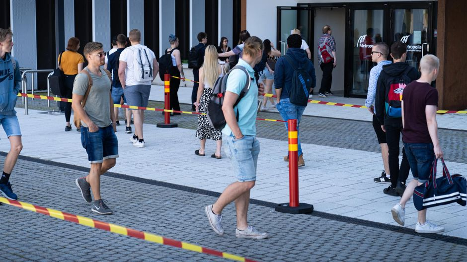 Increase in students attending universities of applied sciences