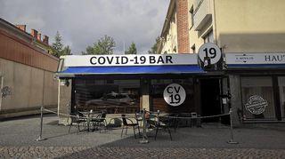 Oululainen baari muutti nimensä Covid-19 Bariksi.