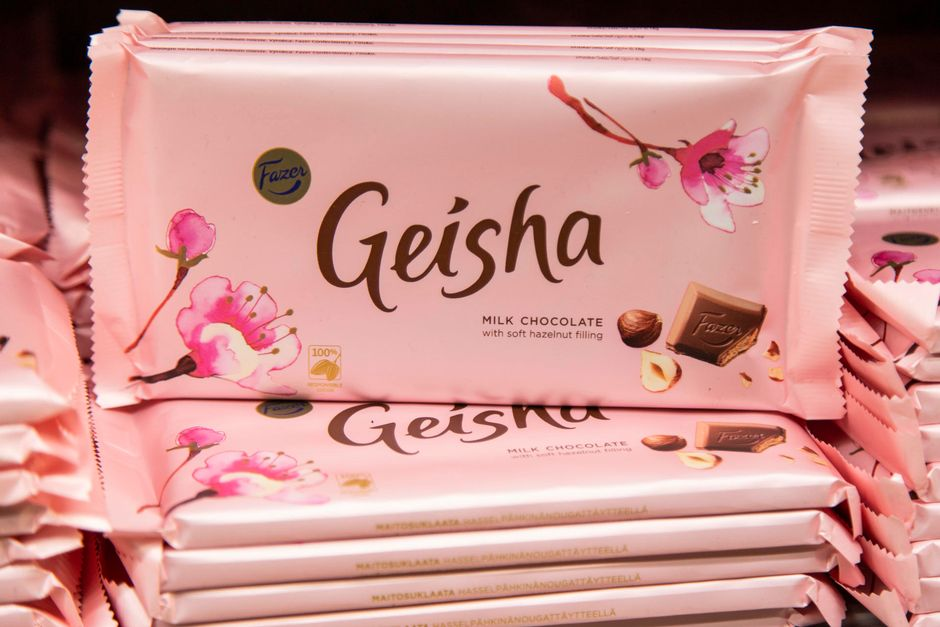 Geisha suklaa pakkaus, yritys vastuu