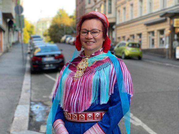 Minna Näkkäläjärvi pani alulle adressin Käsivarren tuntureiden puolesta kaivostoimintaa vastaan.