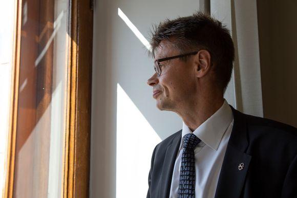 Korkeimman hallinto-oikeuden presidentti Kari Kuusiniemi