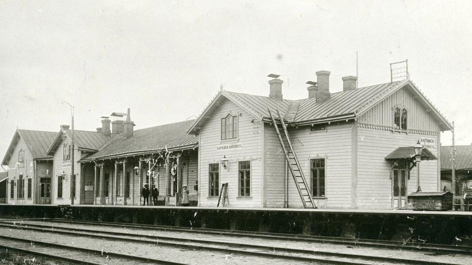 Kaipiaisten rautatieasema vuonna 1911