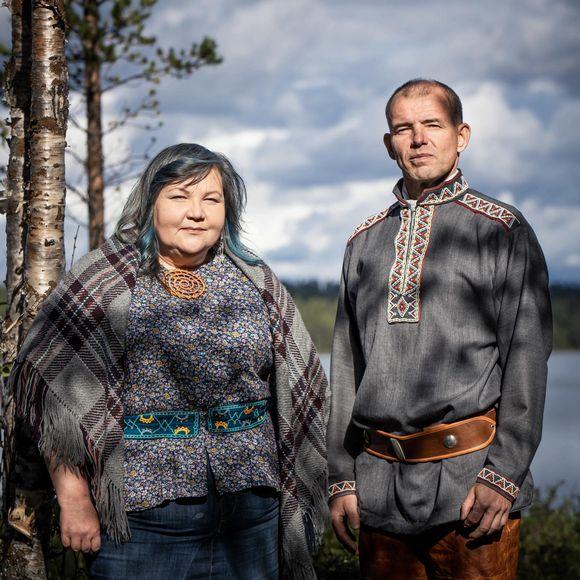 Hanna-Maaria Kiprianoff ja Veikko Feodoroff