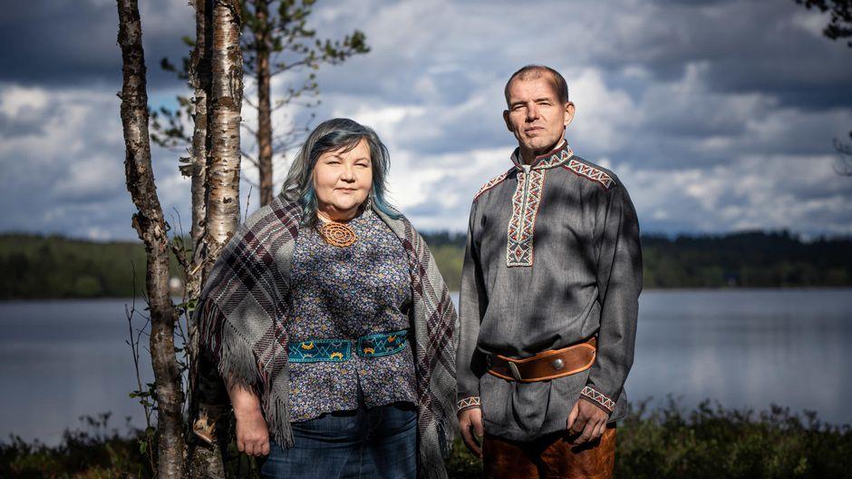 Video: Kolttien luottamusmiesvaalin 2020 ehdokkaat Hanna-Maaria Kiprianoff ja Veikko Feodoroff.