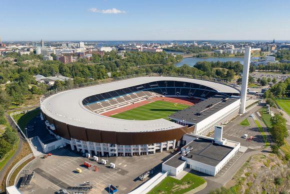 Helsingin Olympiastadion uudistuksen jälkeen