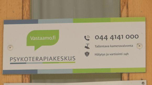 Vastaamo Hämeenlinnan kyltti.