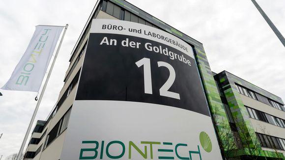 BioNTechin rakennus Saksassa Mainzissa.