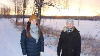 Raisa Similä ja Maria Pehkonen