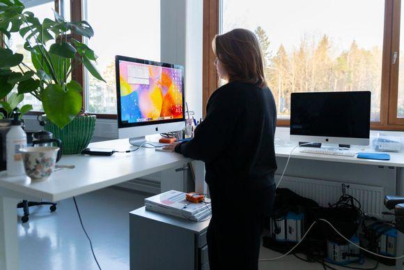 Emilia Mäkinen, työpajan vetäjä