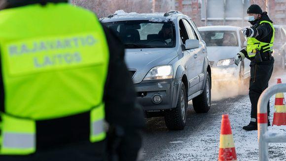Rajatarkastuksia Tornio-Haaparanta rajalla