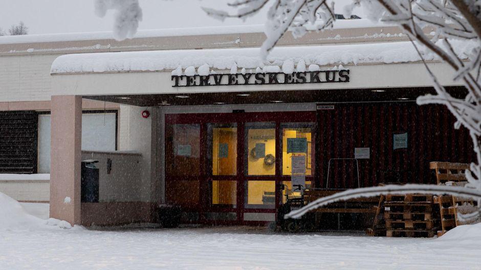Video: Ivalon terveyskeskus talvella