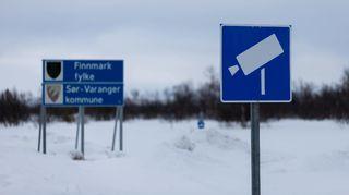 Suomen ja Norjan raja Näätämössä