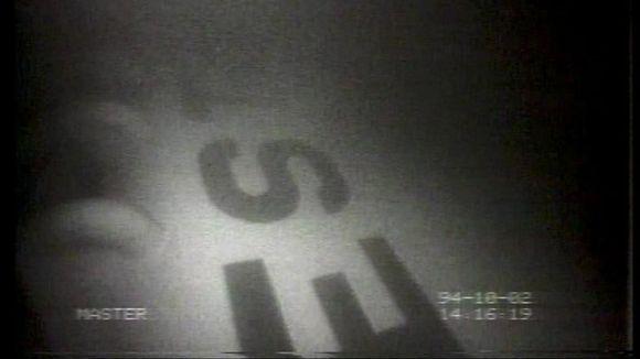 Estonian runkoa sukellusrobotin kuvassa.