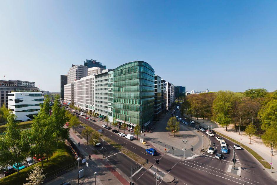Ruptlyn toimistorakennus Berliinissä.