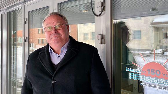 Kemijärven kaupunginjohtaja Atte Rantanen.