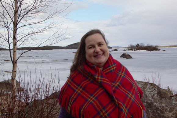 Saija-Riitta Sadeoja opiskeli koronavuonna koltansaamea Inarissa.