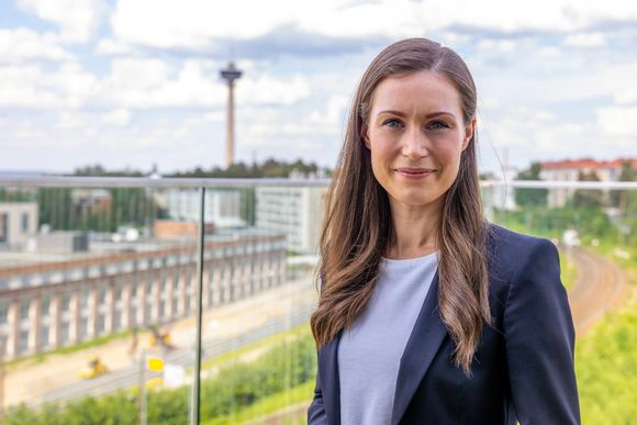 Pääministeri Sanna Marin (SDP.)