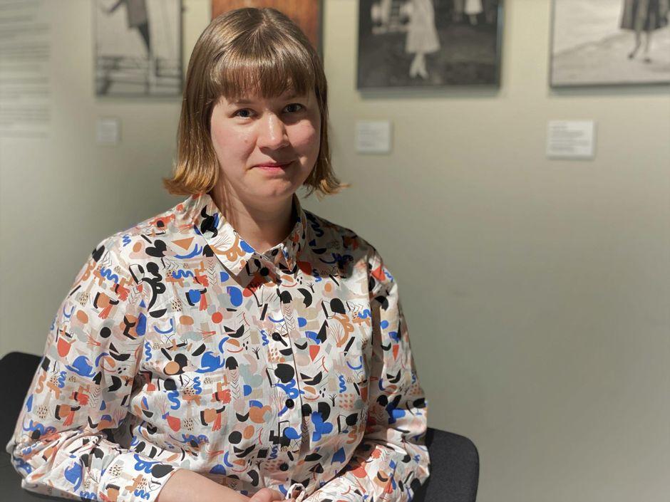 Valokuvataiteen museon intendentti Anni Wallenius