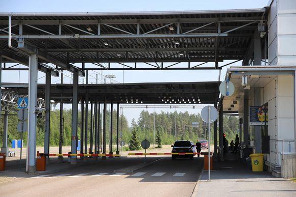 Vaalimaan raja-asema Vaalimaalla Virolahdella.